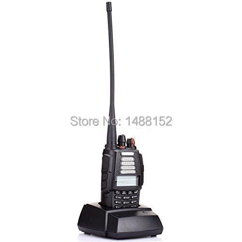 Dual Band Radio VHF UHF Two Way Radio Handheld Radio Transceiver Walkie Talkie 200 Channels with Radio Function Free Shipping(China (Mainland))
