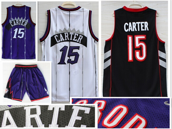 Top Quality new material #15 Vince Carter Jersey Basketball Jersey Sports Jersey Throwback Retro Rev 30 Sports clothes(China (Mainland))