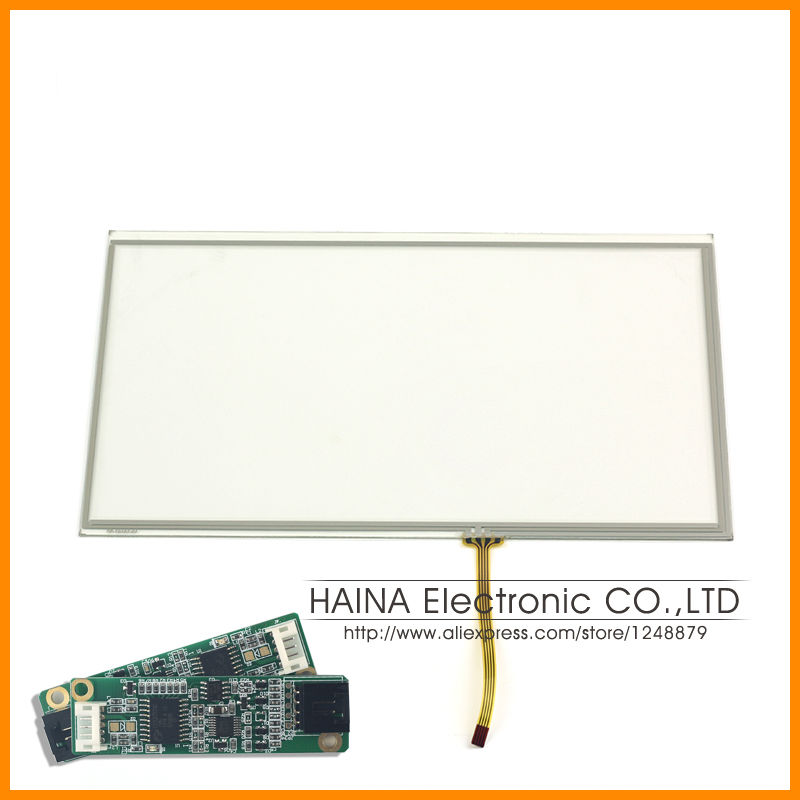 16 9 10 1 inch includes USB Controller 4 Wire USB Resistive Touch Screen Panel 10