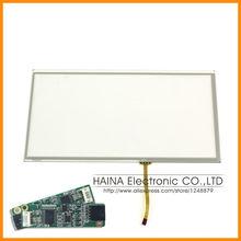 16:9 10.1 дюймов включает в себя USB контроллер 4 провод USB резистивный сенсорный экран панели 10 сенсорная панель для ноутбук / промышленного оборудования