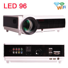 2015 New BT96 Android WiFi Smart LED 96 Projector 3000Lumens DVB-TV 1080P video Home theater 3D Full HD LCD Beamer Free shipping(China (Mainland))