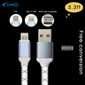 YFW 3 3ft TPE Jelly Cable for Lightning and Micro USB Data Sync Charge Cable One
