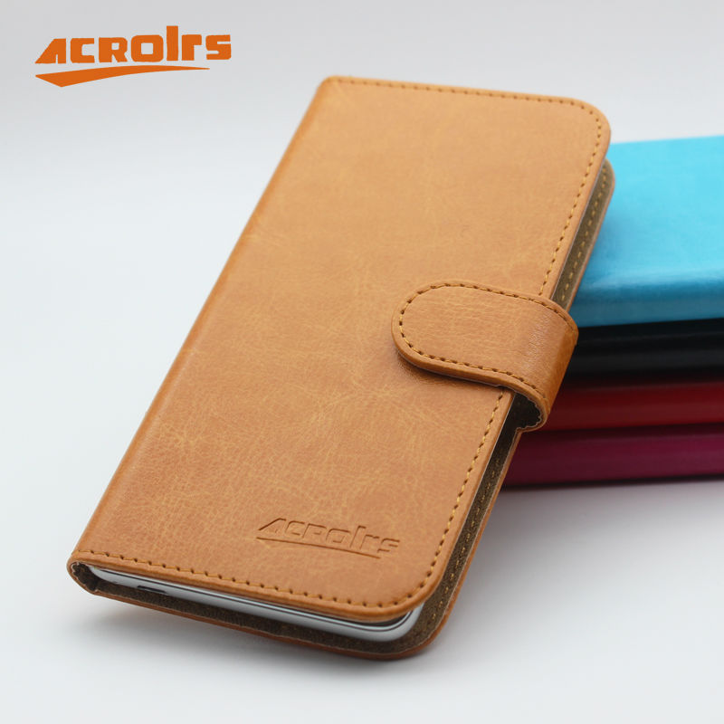 Hot Sale! HomTom HT17 pro Case New Arrival 6 Colors Luxury Fashion Flip Leather Protective Cover HomTom HT17 pro Case