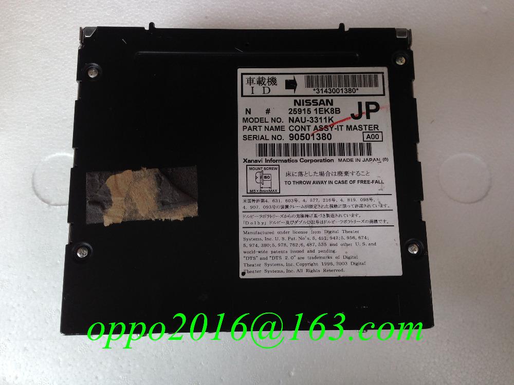 Ni-san Xanavi CONT ASSY-IT MASTER HDD car dvd navigation unit 25915 1EK8B 1AM9B NAU-3953K NAU-3421K NAU3311K made in Japan(China (Mainland))