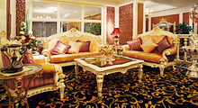 graceful European style antique vintage comfortable and soft living room sofa set(China (Mainland))