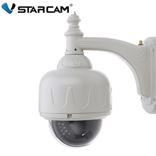Hot Vstarcam C7833WIP - X4 Outdoor 720 HD H.264 Compression Format P2P Technology 1MP PTZ Optical 4X Zoom Network Dome Camera(China (Mainland))