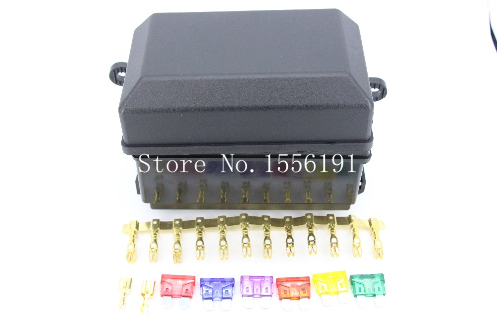 6 Way Auto fuse box assembly With terminals and fuse ,Auto car insurance tablets fuse box mounting fuse bo,Auto Relays Box(China (Mainland))
