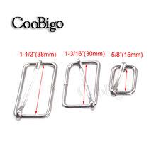 20pcs Pack Silver Metal Slides Tri-glides Wire-formed Roller Pin Buckles Strap Slider Adjuster #FLQ107-15S/30S/38S(China (Mainland))