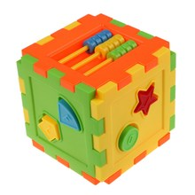 Baby Kid Matching Toy Bricks Matching Blocks Baby Intelligence Educational Sorting Box Toy (China (Mainland))