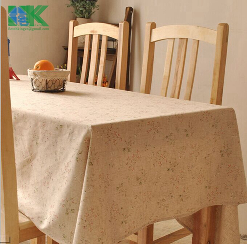 2016 new new Vintage crown linen table cloth coffee side table towel tablecloth shabby chic home decoration/toalha de mesa ,(China (Mainland))