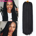 Dreadlock 24 Roots Havana Twist Dread Braids Crochet Hair 18 14 100g pack Synthetic Brading Hair