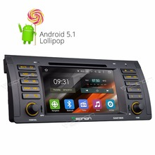 """Buy 7"""" Quad Core Android 5.1.1 OS Special Car DVD player radio BMW 3 Series E46 1998-2005 Screen Mirroring DAB+ Support for $366.46 in AliExpress store"""