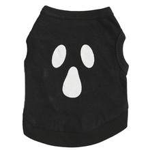 White Skull Dog Vest Cheap Summer Dress Puppy Dog T-shirt Coat Teacup Chihuahua Clothes For Dogs Pet Products