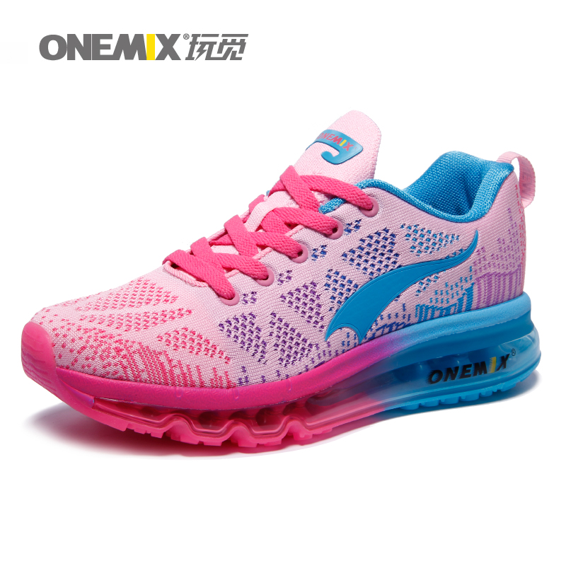 ONEMIX Brand Top Quality Women Running Shoes with Mesh Cushion Women Sport Shoes Girls Outdoor Sneakers Factory Direct Sale 1118(China (Mainland))