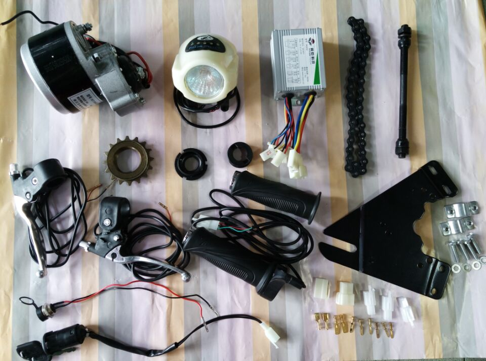 Dc 24v 250w diy 22 28 electric motors for bikes electric for Diy electric motor repair