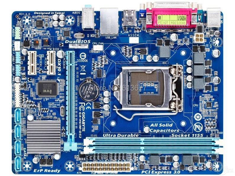 Интернет магазин товары для всей семьи HTB1mmAMKVXXXXcIaXXXq6xXFXXXl Оригинальный материнская плата для Gigabyte GA-H61M-DS2 DDR3 LGA 1155 H61M-DS2 рабочего Материнская плата Бесплатная доставка