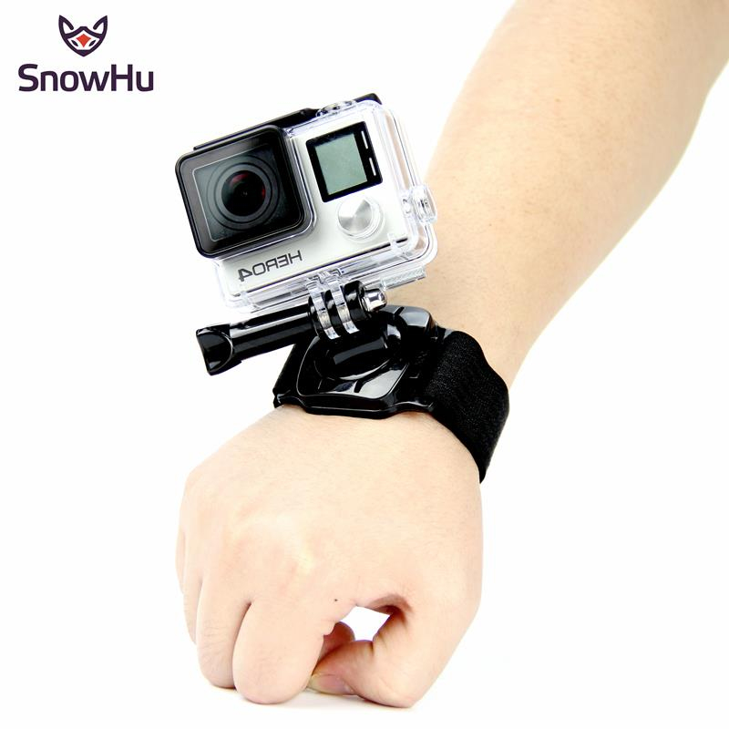 Gopro Accessories 360 Degree Rotation Hand Wrist Strap Band for Gopro Hero 4 3+ Xiaomi Yi SJ4000 sj5000 sj6000 LD09