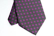 NT0193 Purple Black Dot Fashion Jacquard Woven Silk Polyester Man s Classic Business Wedding Party Luxury