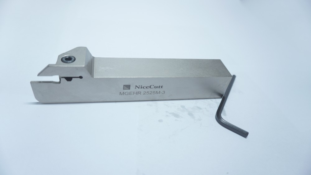 Buy Lathe Machine Tool Holder MGEHR Slot Cutter Lathe Knives Solid Carbide Tool Holders cheap
