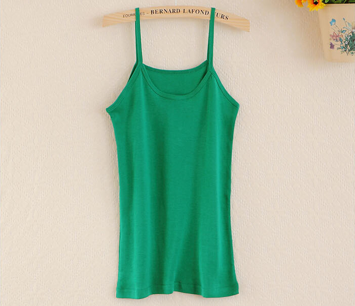 2015 women sexy summer style fashion sexy tank top Green White Blue Pink color women tops casual strappy vest cheap(China (Mainland))