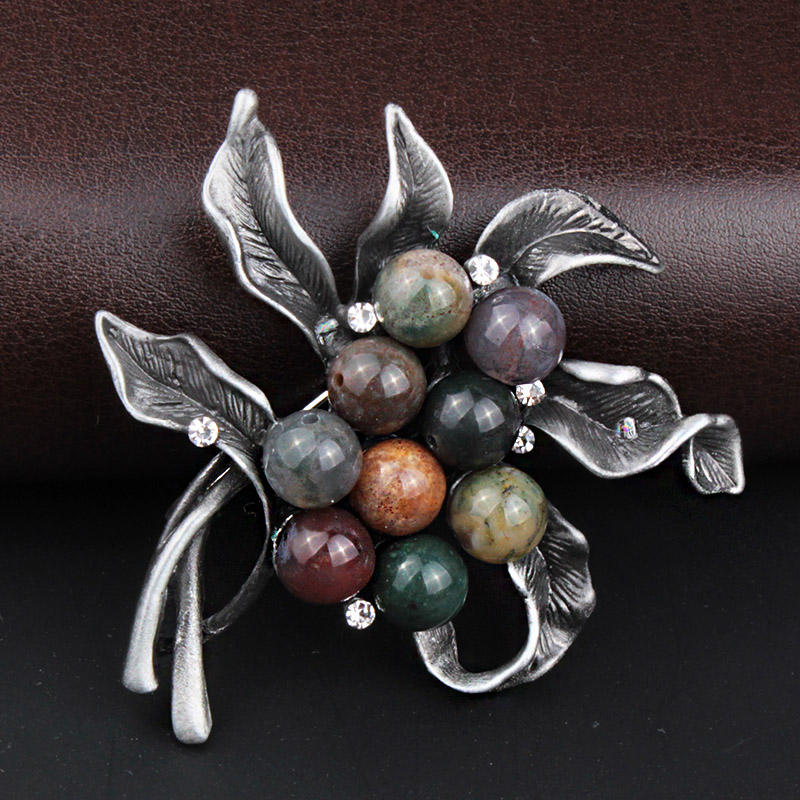 Wholesale Vintage Women Brooches &Pins Jewelry Flower ...