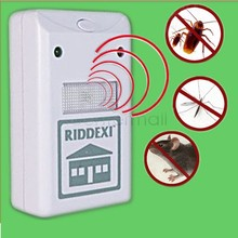 High Quality 110V 15W US Plug New Riddex Plus Electronic Mouse Pest & Rodent Mosquito Repeller(China (Mainland))