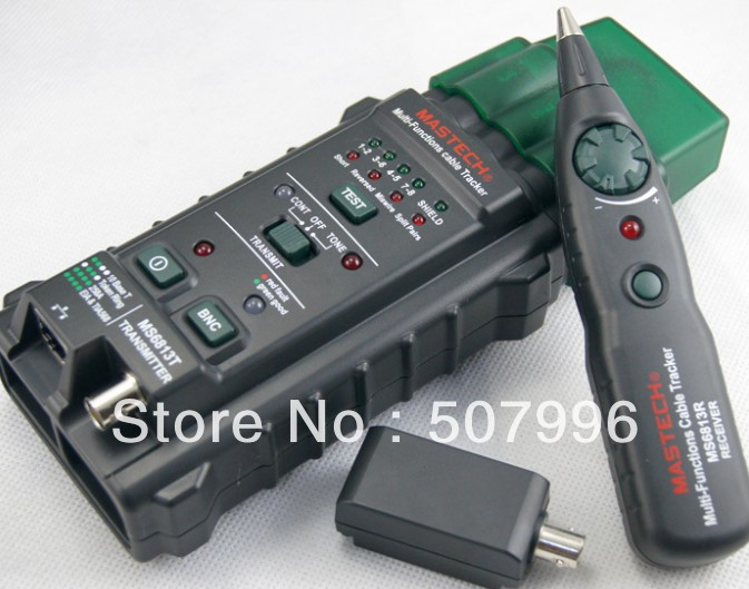 MS6813 Multifunction Network hunt instrument cable tester hunt can be measured RJ45 RJ11 T568A, T568B, 10Base-T Token Ring D-955(China (Mainland))