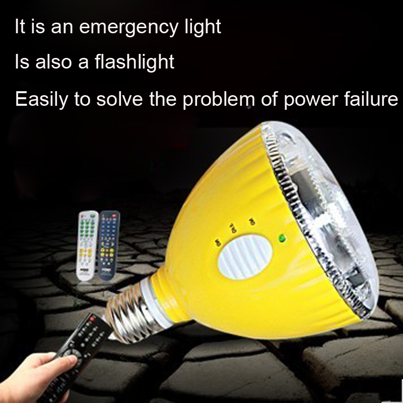2015 Ccc Fcc Limited Rushed Ce E27 220v Protable Rechargeable Magic Led Bulb Emergency Light Flashlight Remote Controler(China (Mainland))