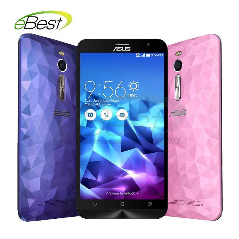 "original Asus ZenFone 2 Deluxe ZE551ML 4G mobile phone FDD LTE Intel Z3560 64 Bit Quad Core 1.8GHz 5.5"" 2G RAM 16GB ROM phone(China (Mainland))"