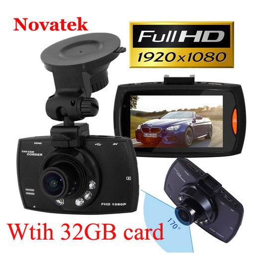 "2.7"" Screen G30 Car DVR Mirror Camera Full HD Novatek Auto Vedio Recorder Dash Cam Motion Detection Night Vision With 32gb Card(China (Mainland))"