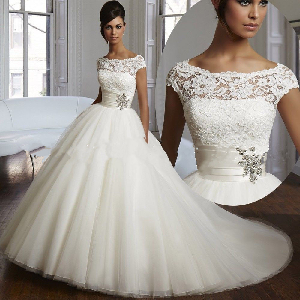 Buy 2015 women vestidos de festa new for White or ivory wedding dress