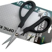 шлифмашины Pro'sKit dk-2043 волоконно оптические кевлар резец, острые зубчатые волокна ножницы, вырезать ножницами многоцелевой инструмент