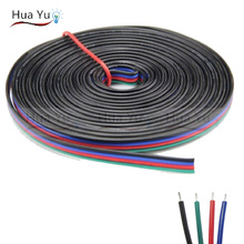 Buy 10m 4pins tinned copper wire,RGB extension cable wire, 22AWG LED strip electronic wire cable, DIY connect, Free for $7.12 in AliExpress store