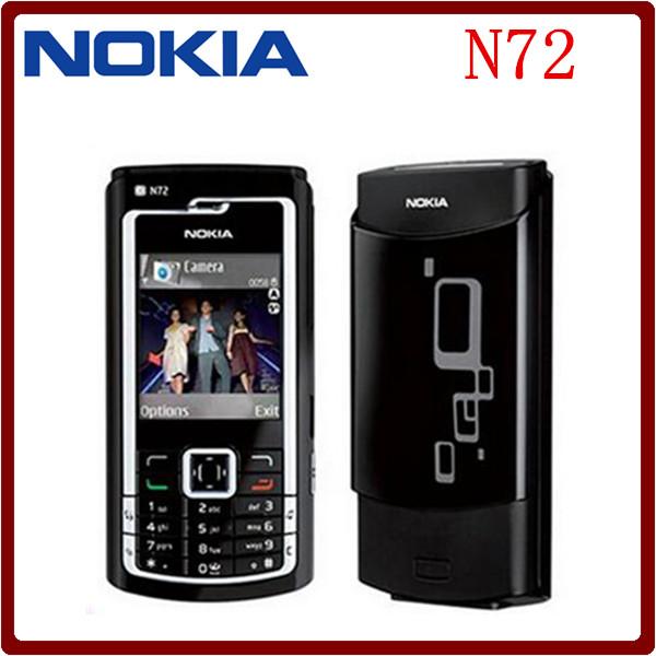 N72 Original Unlocked Nokia N72 2MP Bluetooth JAVA FM Radio Symbian Cheap Mobile Phone Free Shipping(China (Mainland))