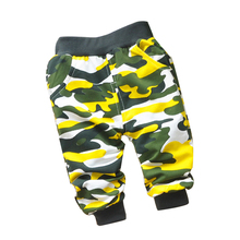 2015 spring new 7-24 months Korean boy pants cotton cartoon bear baby boy pants for boys and girls  6 color scaters baby