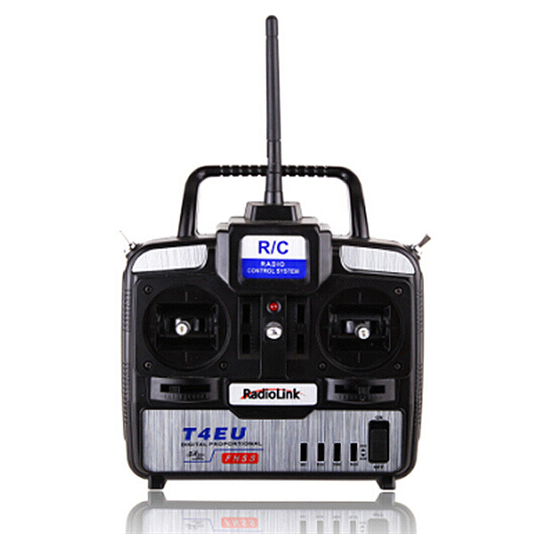 RadioLink T4EU 2.4GHz 6CH Radio RC Transmitter with R7EH 7CH Receiver(China (Mainland))