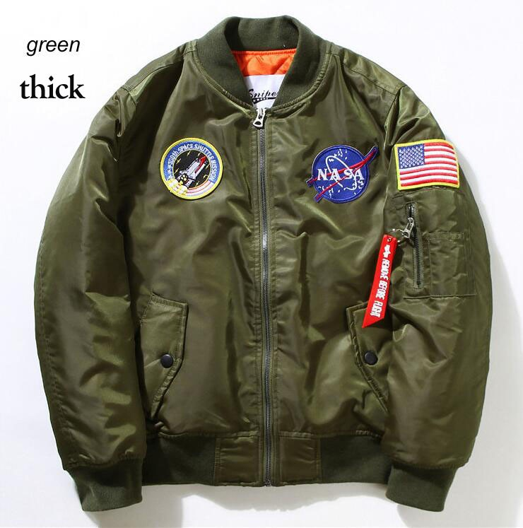 Flight-Pilot-Jacket-Coat-Bomber-Ma1-Men-Bomber-Jackets-Nasa-Air-Force-Embroidery-Baseball--Coats