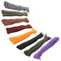 8 colors Paracord 550 Paracord Parachute Cord Lanyard Rope Mil Spec Type III 7Strand 100FT Climbing <font><b>Camping</b></font> survival equipment
