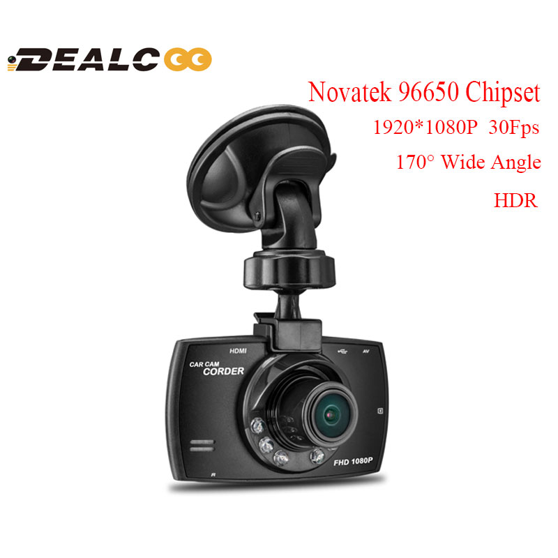 "Фотография 2016 New Arrival G30 WDR Full HD 170 Degrees Night Vision Car DVR Camera Recorder BlackBox Novatek 96650 H.264 2.7"" Lcd Dash cam"