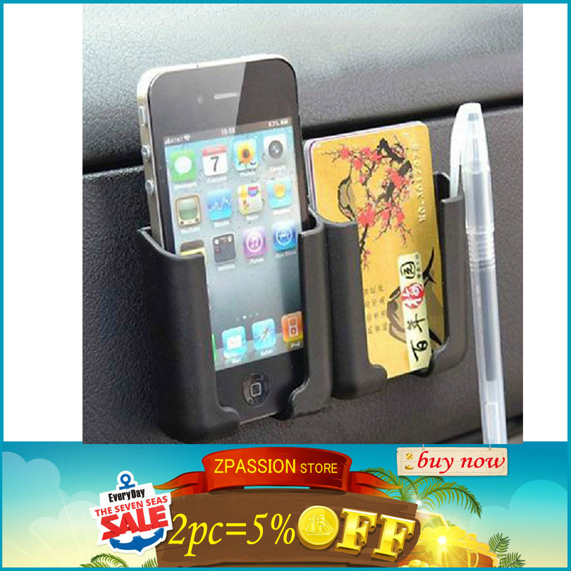 Mobile phone aircraft utility 2014 New arrival Car Universal Adhesive Storage Multi Use Holder For Smartphone GPS PDA(China (Mainland))