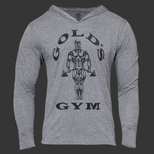 Men Golds Gym Sports Hoodies Bodybuilding Sweatshirt Mans 2016 Sports Suit Long Sleeve Tracksuit Cotton Jumpers GASP Pullovers