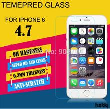 Explosion Proof Clear Front Premium Tempered Glass Screen Protector Protective Film Guard For Apple iPhone 6 4.7″