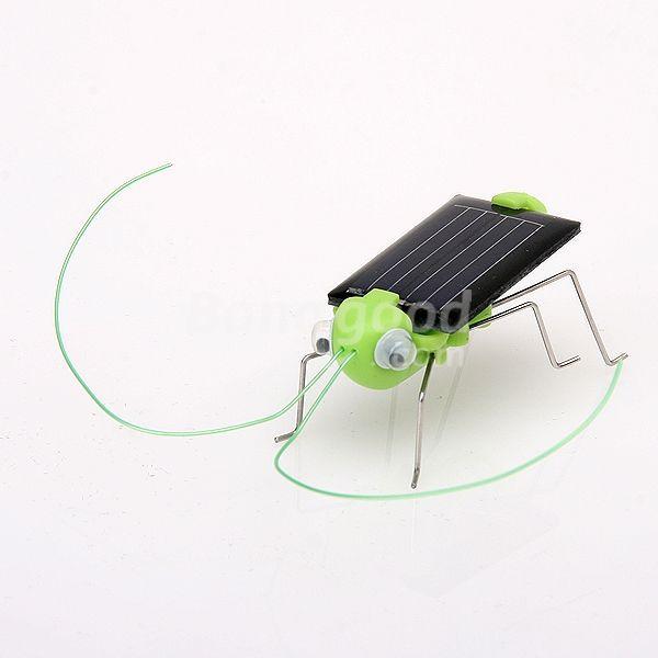 Super Deal Educational Solar powered Grasshopper Toy Gadget(China (Mainland))