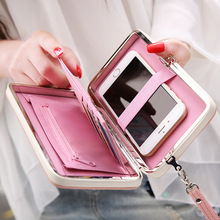 High-heel shoe long Women Wallet Female Card Holders Cellphone Cases Pocket Gifts Money Bag Ladies Day Clutch Purse Wallets box(China (Mainland))