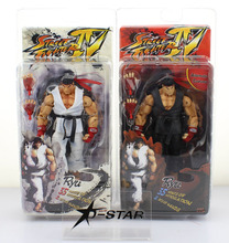 """Buy Free 7"""" NECA Street Fighter IV RYU Ryu Boxed PVC Action Figure Collection Model Toy Gift White Black for $17.99 in AliExpress store"""