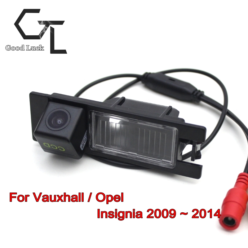For Vauxhall / Opel Insignia 2009 ~ 2014 wireless Car Parking Camera Rear Camera HD CCD Night Vision Car Camera Reverse Camera(China (Mainland))