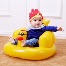 Inflatable Sofa Baby Booster font b Feeding b font Chair Portable Folding Seats Children Eat Desk