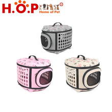 Free Shipping New Arrival Pet EVA Folding Carrier Cat Dog Traveling Bag Small Dog Flight Case
