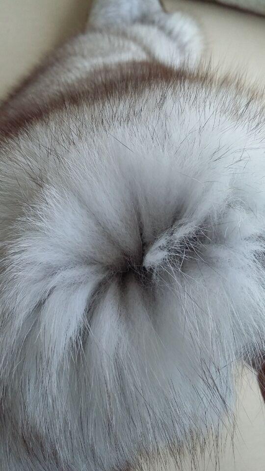 Wholesale factory price blue fox fur skin/ real fur skin(China (Mainland))