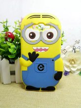 3D Cartoon Minions Case Despicable Soft Silicone Minion Cover Samsung Galaxy 2015 J1 J100 & J5 J500 J7 J700 - CHAO YE Mobile phone accessories shop store